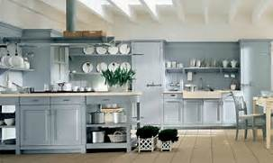 Country Kitchen Style For Modern House Light Blue Country Kitchen Design Modern OLPOS Design