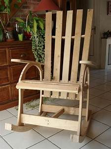 Ideas for pallet rocking chairs pallet ideas recycled for Fauteuil rocking chair design