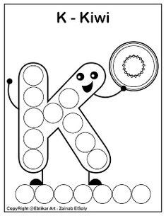 dot marker  coloring pages images dot