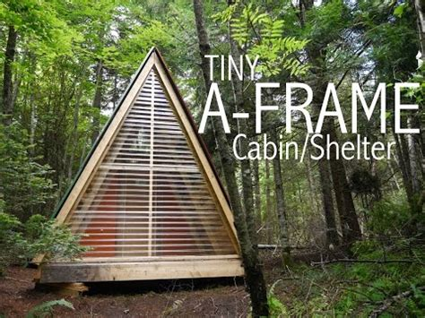 simple a frame house plans a tiny a frame cabin shelter in the woods of vermont tiny house