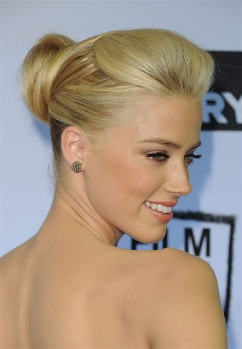 latest popular formal sleek bobby pinned updo hairstyle hairstyles weekly