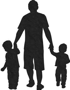 View Design: 2 sons and father | Father tattoos, Silhouette tattoos, Silhouette