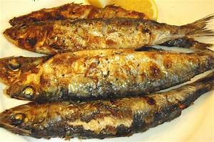 Mediterranean Grilled Sardines Recipe by Calorie Less