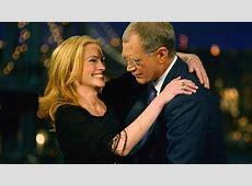 David Letterman Stephanie Birkitt