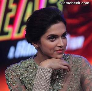 Deepika Padukone at the music launch of film Happy New Year