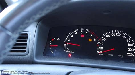 What Means Ps Warning Light Toyota Corolla. Years 2000 To