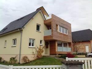 abt construction bois maison ossature bois en alsace With energie d une maison 8 maison 224 ossature bois avec bardage canexel nos maisons