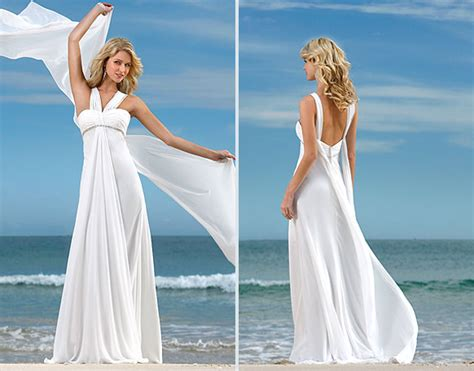Beach Wedding Dress Styles