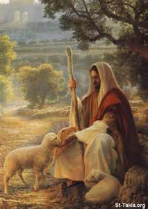 Jesus Christ the Good Shepherd Paintings
