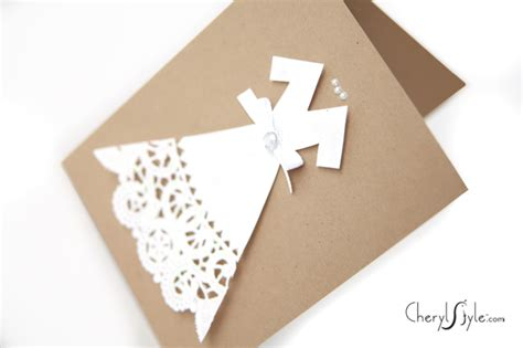 diy wedding cards everyday dishes