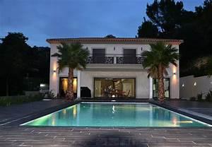 deco exterieur piscine photo d amenagement piscine ext With jardin autour d une piscine 15 fresque murale decor peint et trompe loeil peinture