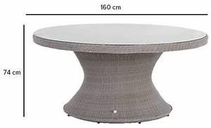 Table Ronde 8 Personnes : table de jardin ronde hesp ride mod le manille 6 places ~ Teatrodelosmanantiales.com Idées de Décoration