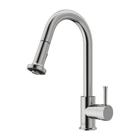 stainless steel faucet kitchen vigo vg02002st stainless steel pull out spray kitchen