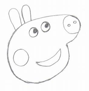 how to draw peppa pig With peppa pig drawing templates