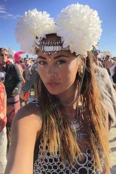 burning man festival glitter face     dreams glamour uk