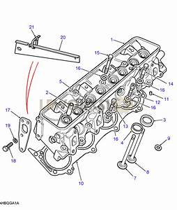 Cylinder Head - V8 3 5l Carburetter