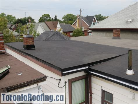 ply modified bitumen flat roofing membrane system