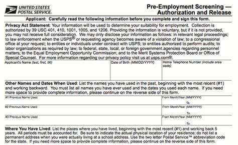 application post it bureau employment application us post office employment application