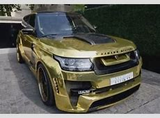 Garish goldplated Range Rover worth R26m Wheels24