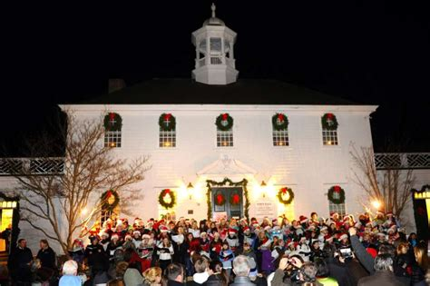 fairfield christmas tree lighting