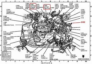 2008 Ford Taurus Engine Diagram