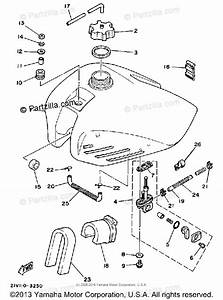 Yamaha Atv 1984 Oem Parts Diagram For Fuel Tank