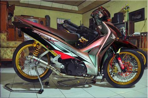 Foto Modifikasi Sepeda Motor Supra X 125 by Foto Modifikasi Honda Supra X 125 Terbaru Moto Plus Plus