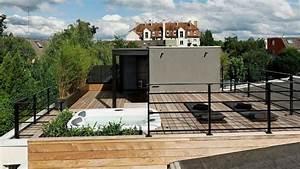 Aménagement Toit Terrasse : toit terrasse bois am nager son toit en terrasse vivre c t maison ~ Melissatoandfro.com Idées de Décoration