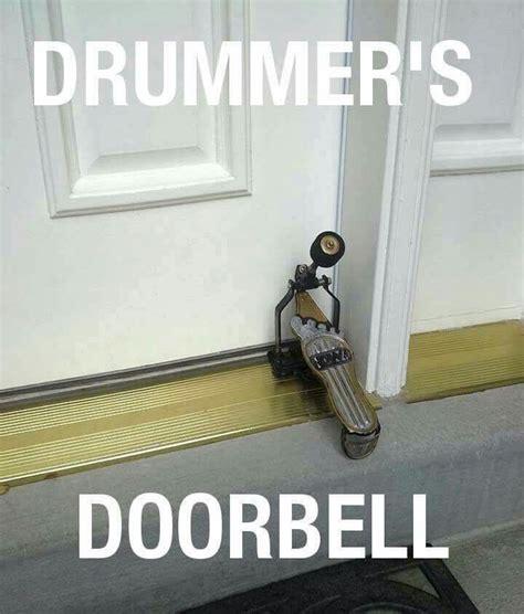 drummers door bell  drum