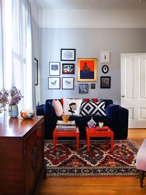 a warm sf home with a rock n roll twist design sponge