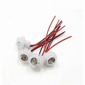 4pcs 1157 Bulb Socket Car Daytime Running Light Wiring