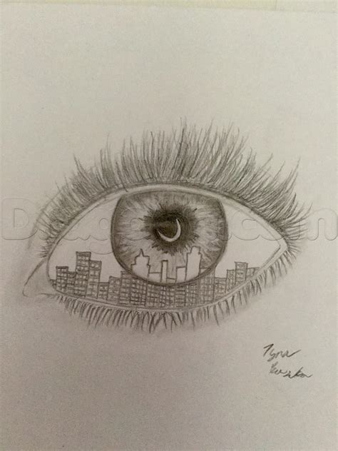 draw  cool eye step  step concept art fantasy