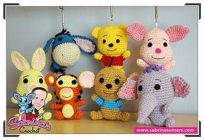 Pooh Winnie Amigurumi Pattern Crochet Roo Disney