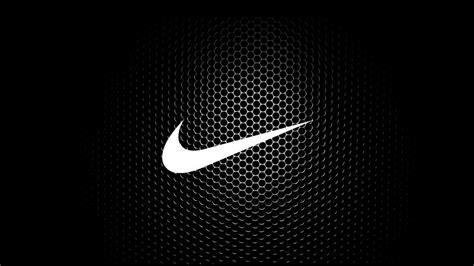 white  black nike logo  hd wallpaper background