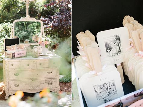 Subdued Alice In Wonderland Wedding