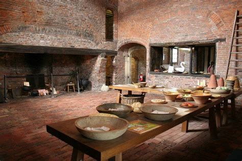 medieval kitchen gainsborough  hall