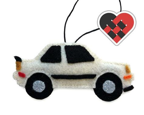 Bmw Ornament by Bmw E30 M3 Felt Car Ornament 3 Series In White