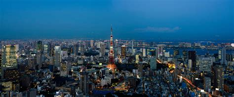 Stadt, Stadtbild, Nacht-, Skyline