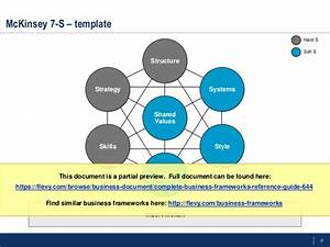 complete business frameworks toolkit strategy marketing With strategy document template mckinsey