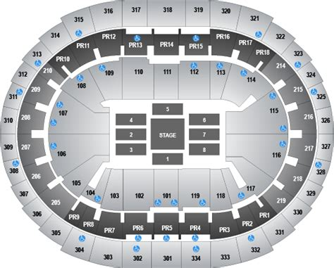 staples center interactive seating chart kings