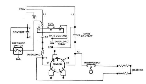 220v Schematic Wiring Diagram by 230v Motor Wiring Impremedia Net