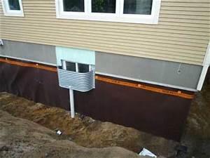 humidite comment faire pour regler le probleme d With maison sans vide sanitaire humidite