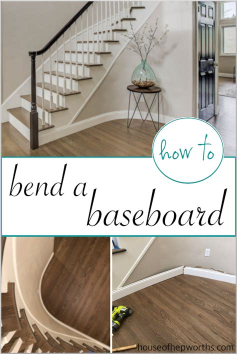 bend  baseboard   tight curve house
