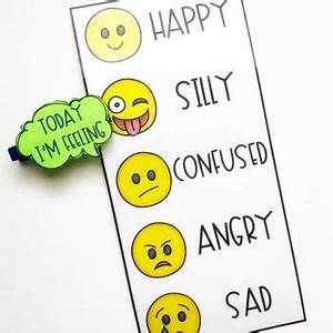 How Are You Feeling Emoji Chart Today I 39 M Feeling Chart With Emojis Feelings Chart