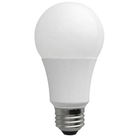 60w equivalent soft white a19 non dimmable led light bulb
