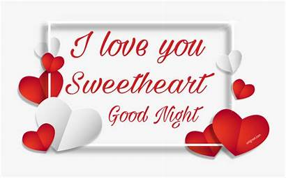 Night Sweetheart Goodnight Clipart Transparent Clipartkey