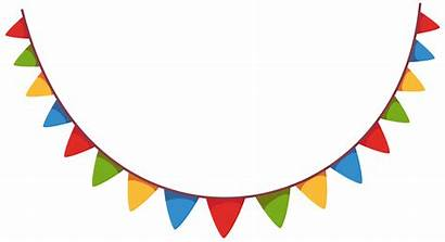 Party Clipart Decoration Streamer Streamers Birthday Decorations