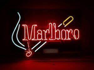 Vintage Marlboro Man Cowboy Cigarette Advertising