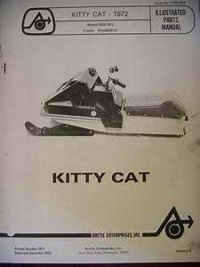 1972 Arctic Cat Parts Manual