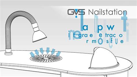 gvs nailstation manicure table  molecular filtration youtube